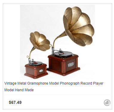 vintage record players