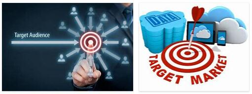 What is a target group in online marketing